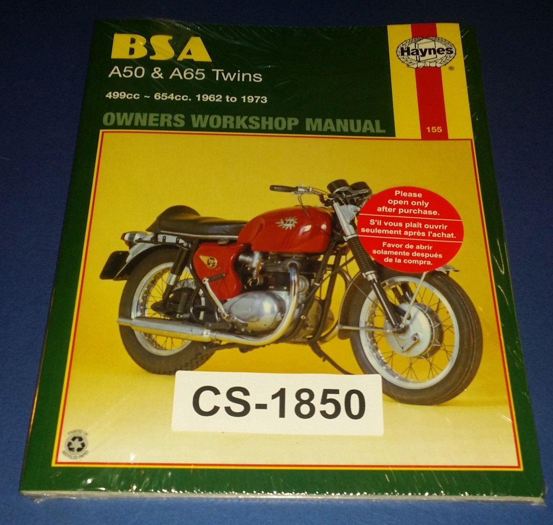 BSA A50 & A65 Owners Workshop Manual ...