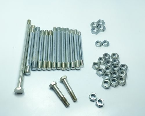 Triumph 500 twin 1969 to 74 Allen engine cover screws stainless screw set