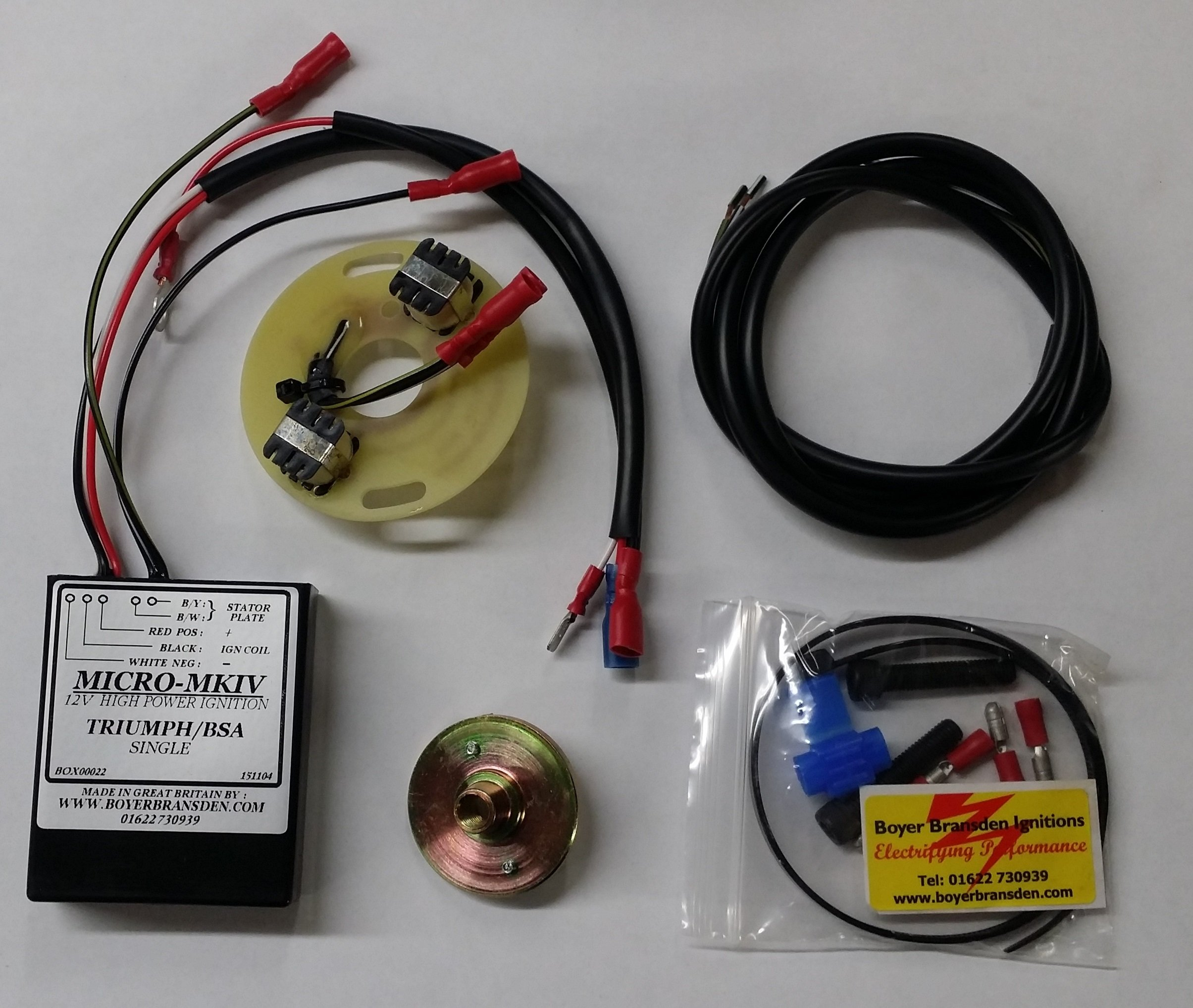 Boyer Ignition Wiring Mk4 Trusted Diagram Triumph Tiger Cub T20 Electronic Kit Baxter Cycle