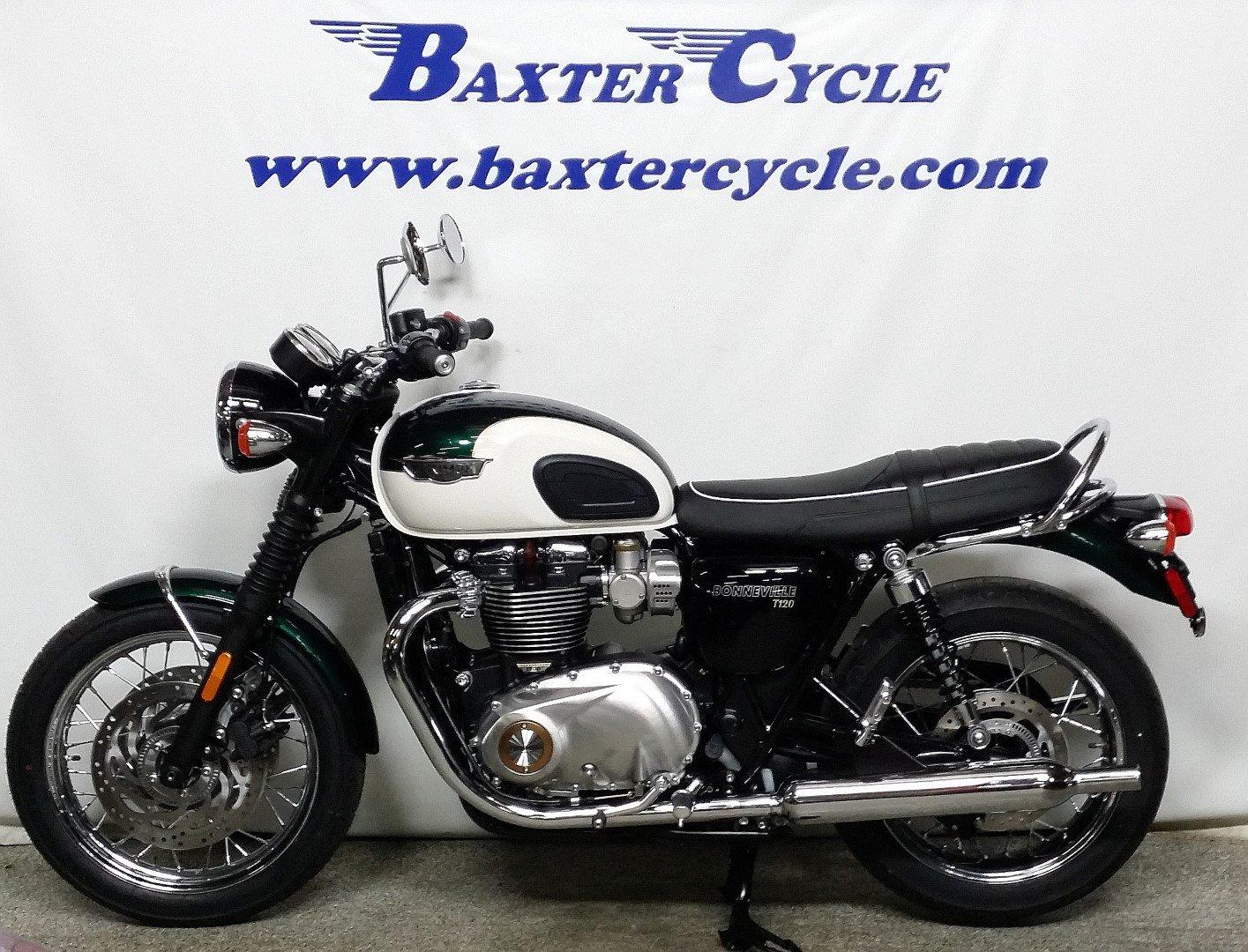 2018 Triumph Bonneville T120 Baxter Cycle