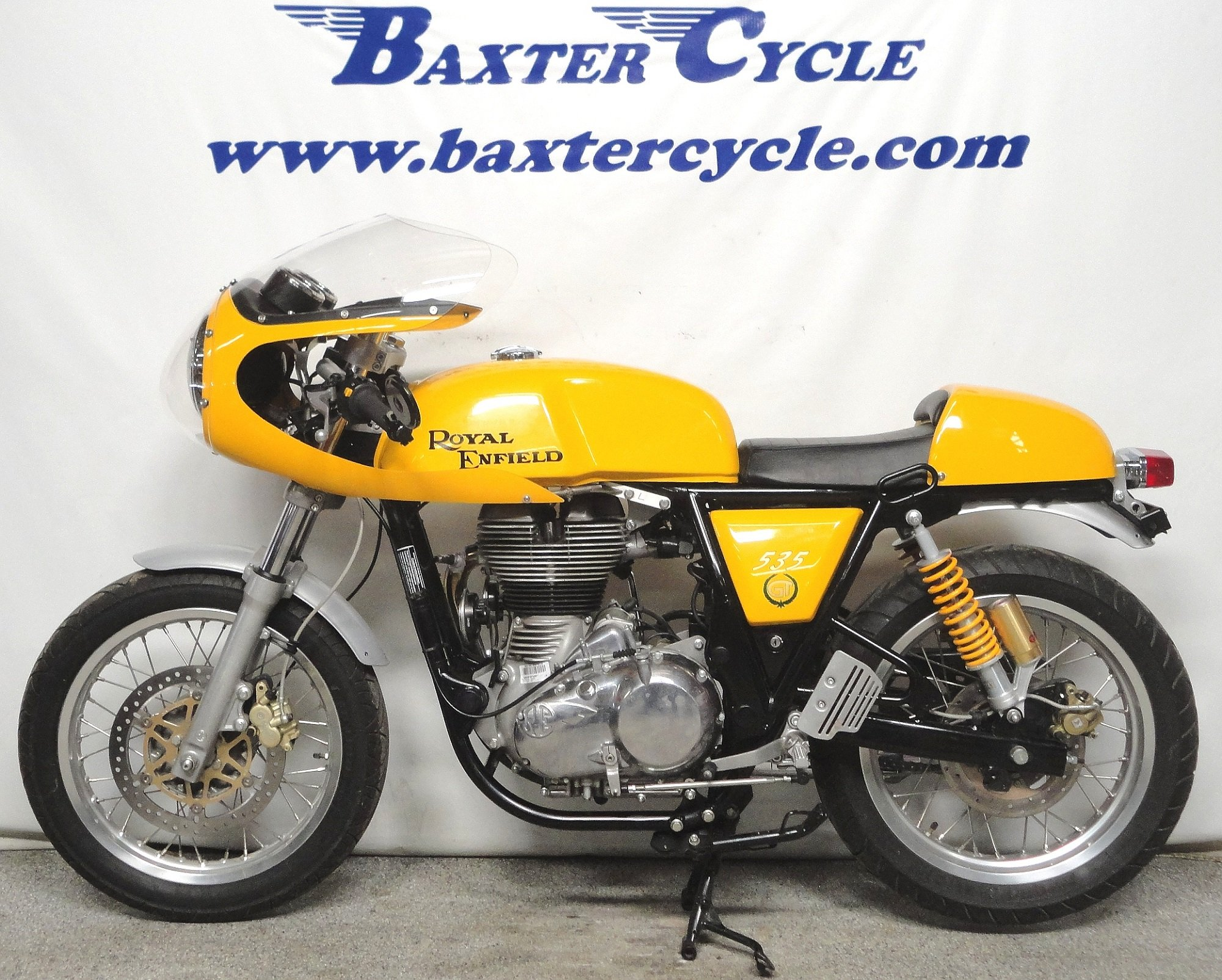 2015 Royal Enfield Continental Gt Baxter Cycle