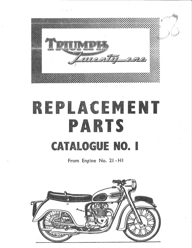 Triumph Parts Books Baxter Cycle 1974 Trident Electrical Wiring 1958 Twenty One 350cc