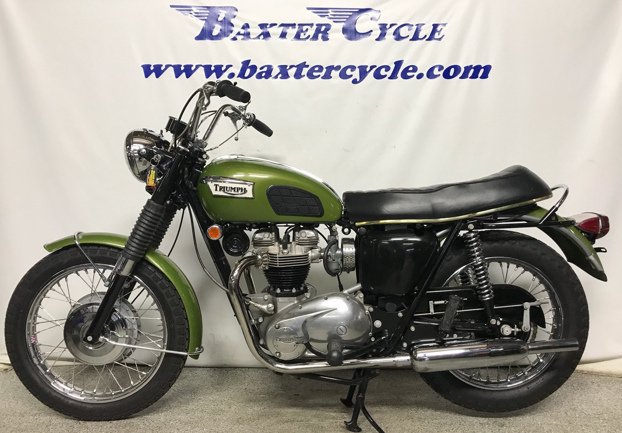 1970 Triumph Tr6r Tiger Baxter Cycle