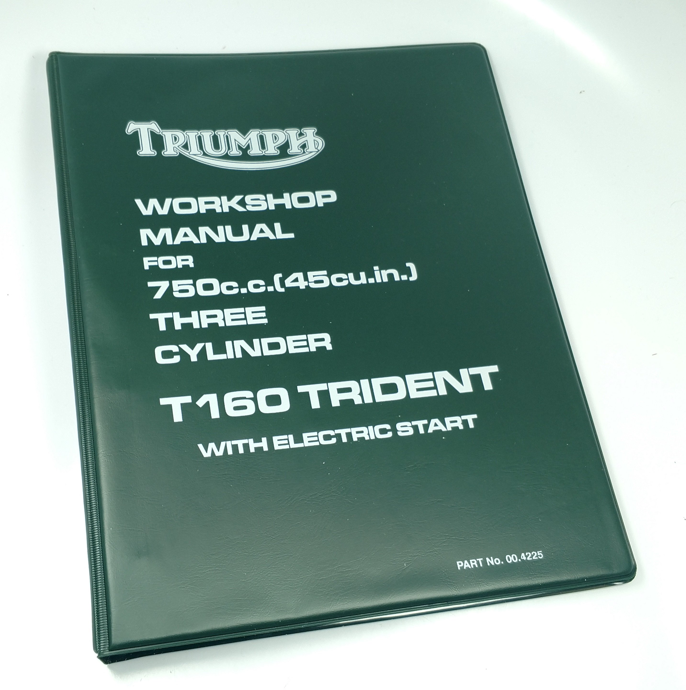 1975 Triumph T160 Service Manual