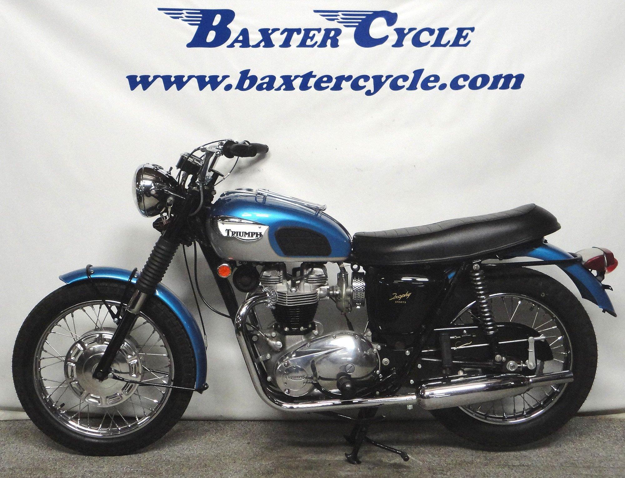 1968 Triumph Tr6r Trophy Sports Baxter Cycle