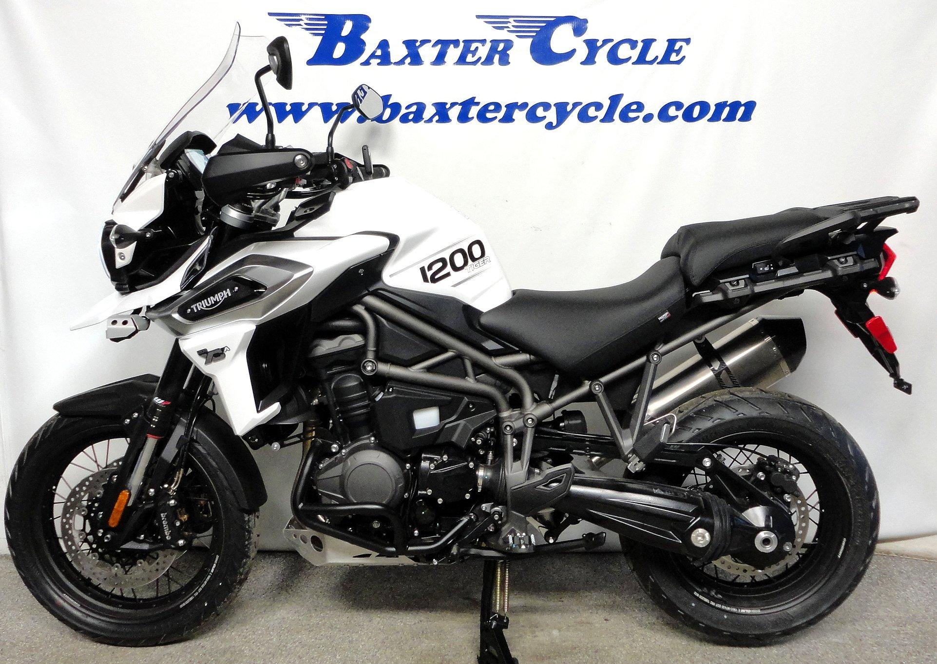 2019 Triumph Tiger 1200 Xca Baxter Cycle