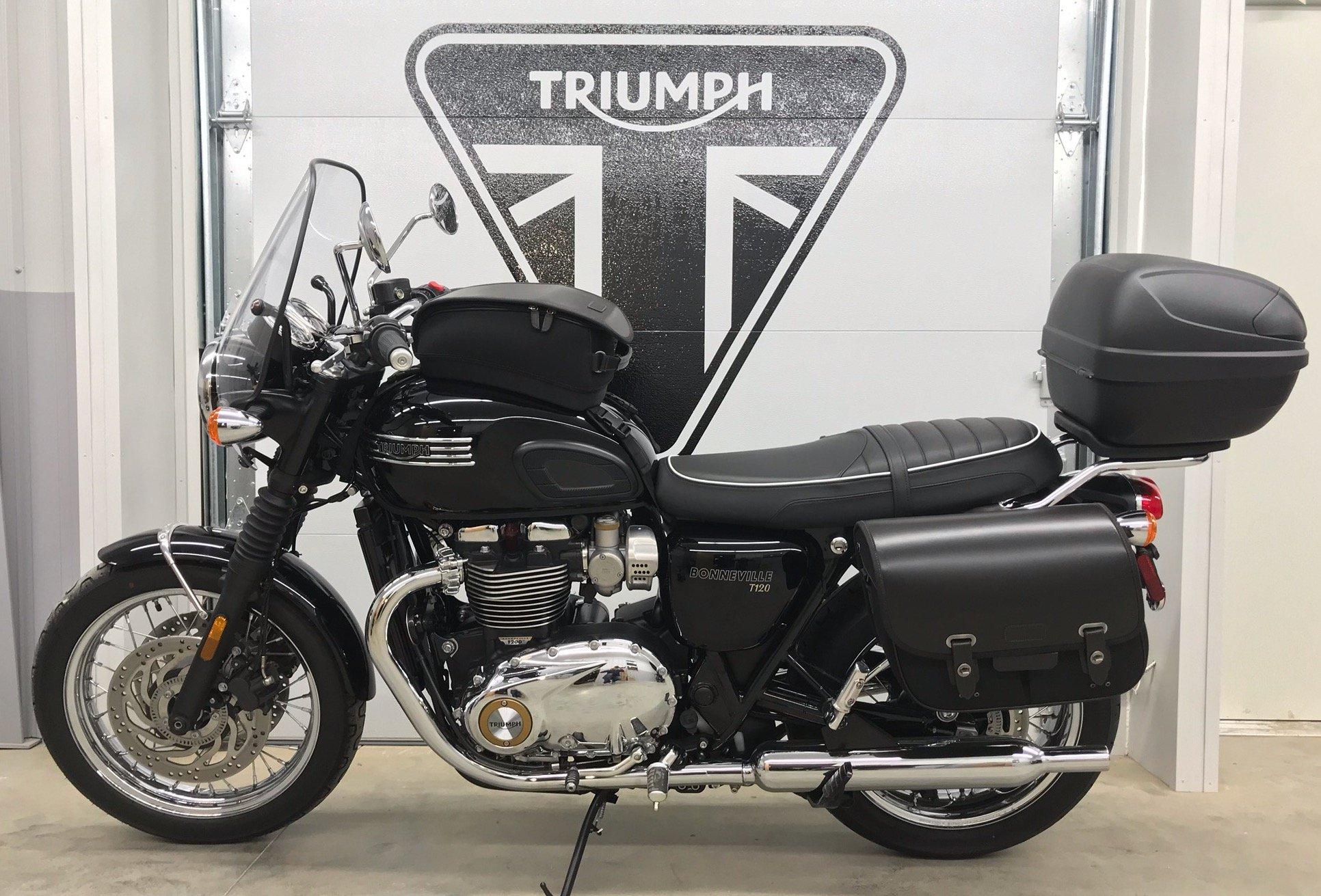 2018 Triumph T120 Bonneville Baxter Cycle