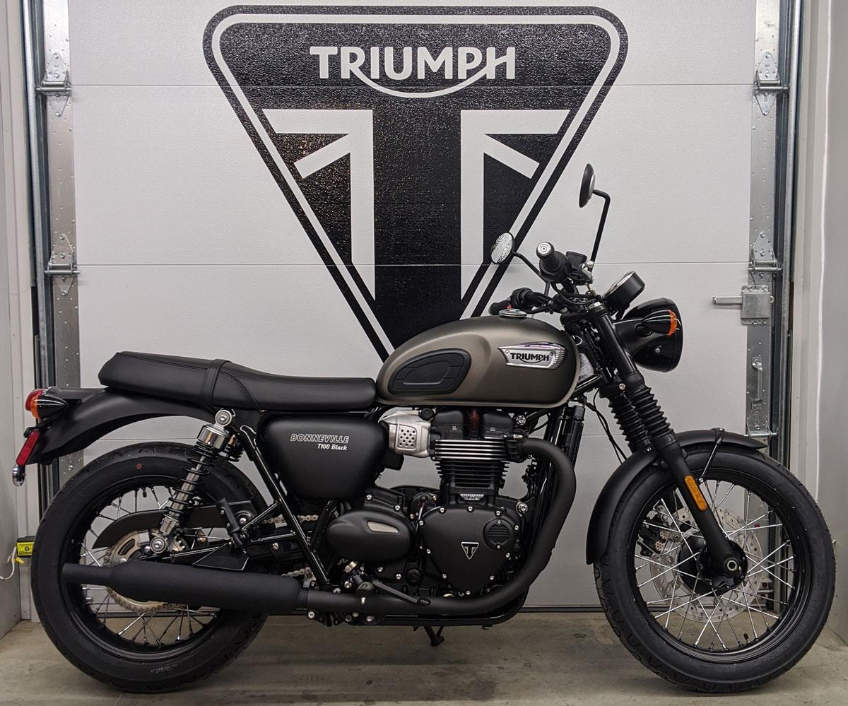 2020 Triumph T100 Black Baxter Cycle